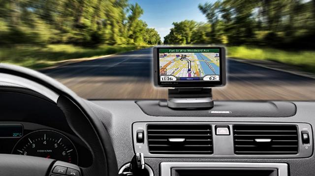 Rastreamento integrado com navegadores de GPS Garmin